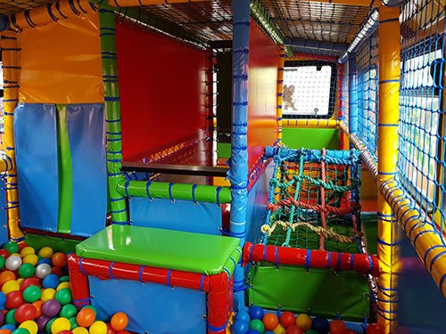 Kids Soft Play Area in a Bus